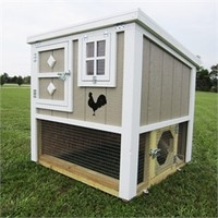 """The Loft"" Chicken Coop (up to 6 chickens) from My Pet Chicken"
