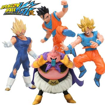 Dragon Ball Z Action Figures Super Saiyan Son Goku Gohan Vegeta Gotenks 14-17cm DXF Anime Dragonball Kai Figures Model Toys DBZ