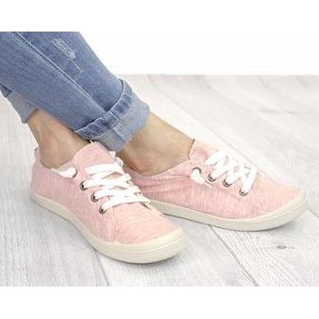 Slip on Sneakers - Pink