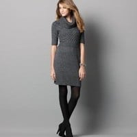 Cable Sweater Dress: Dresses: LOFT