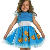 Frilly Cookie Monster Costume