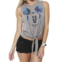 Cosmic Mickey Tank | Shop Tops at Wet Seal