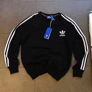 LMFUX5 ADIDAS Woman Men Fashion Sport Round Neck Top Sweater Pullover