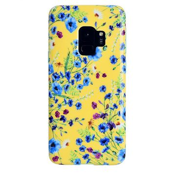 Yellow Wildflowers Samsung Galaxy Case