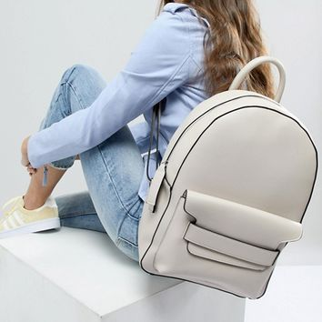 Melie Bianco Vegan Backpack at asos.com