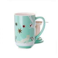 Fox Forest Colour Changing Nordic Mug