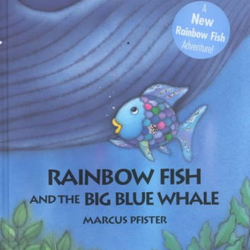 Shop big whale on wanelo for Rainbow fish and the big blue whale