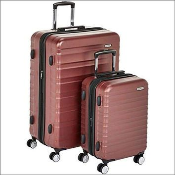 "Premium Hardside Spinner Luggage with Built-In TSA Lock - 2-Piece Set (20"", 28"")"