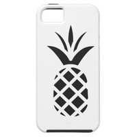 Black Pine Apple iPhone SE/5/5s Case
