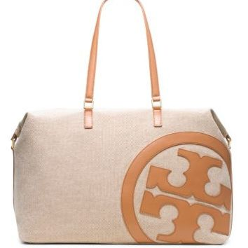 Tory Burch Lonnie Canvas Duffle Bag