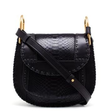 CHLOÉ | Python Hudson Bag | brownsfashion.com | The Finest Edit of Luxury Fashion | Clothes, Shoes, Bags and Accessories for Men & Women