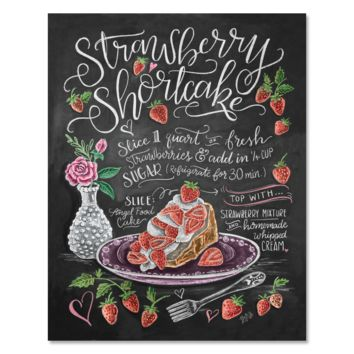 Strawberry Shortcake - Print & Canvas