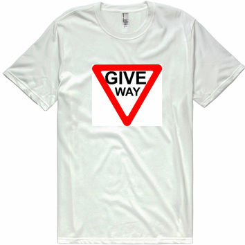 GIVE WAY t-shirt