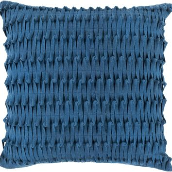 Eden Throw Pillow Blue