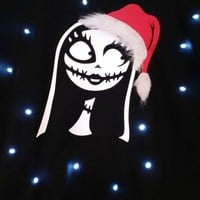 Ugly LIGHT UP CHRISTMAS SWEATER - Sally - Nightmare Before Christmas