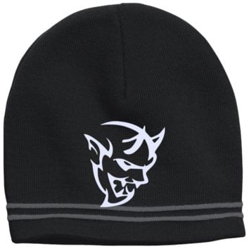 DODGE DEMON 2 STC20 Sport-Tek Colorblock Beanie