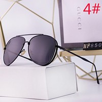 GUCCI Fashion New Polarized Women Men Sunscreen Glasses Eyeglasses