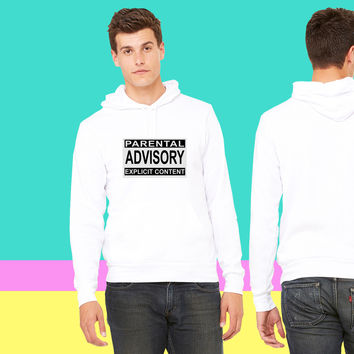 Parental Advisory Explicit Content sweatshirt hoodiee