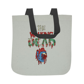 Walking Dead Heart Tote Bag