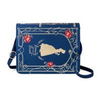 Girls' Disney Beauty and the Beast Book Purse - Blue : Target