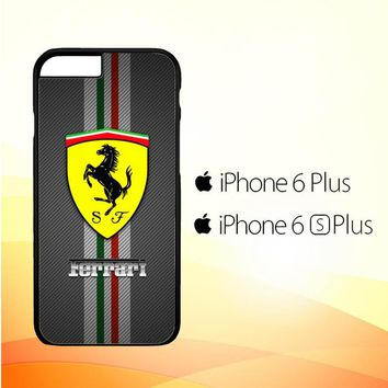 Ferrari Logo X4576 iPhone 6 Plus|6S Plus Case