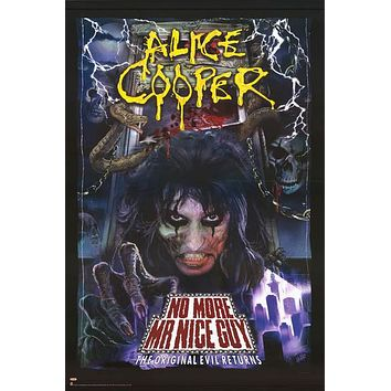 Alice Cooper No More Mr Nice Guy Poster 24x36