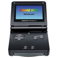 Gameboy Advance SP System - Onyx Black AGS-001 (Pre-owned)