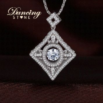Duplex Diamond Premium Design Swarovski Crystal Necklace