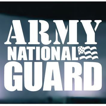 Army National Guard Vinyl Graphic Decal