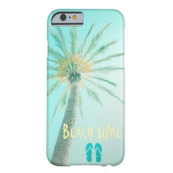 Beach Time Phone Case Funda Para iPhone 6 Barely There