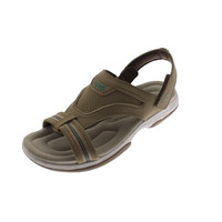 Ryka Womens Banyan Faux Leather Slingback Sport Sandals