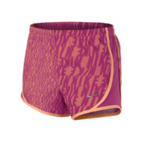 Nike Tempo Graphics Girls' Running Shorts - Turf Orange