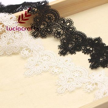 Flower Embroidery Lace for Wedding 1 Yard