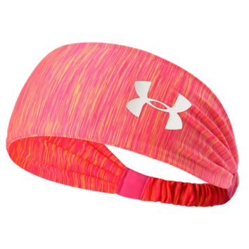 under Armour Sport Crochet Headwrap Headband Warmer Head Hair Band Orange