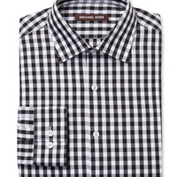 Gingham Regular Fit Dress Shirt