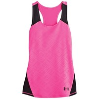 Under Armour Girls' Perfect 10 Fitted Tank
