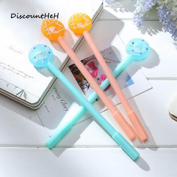 1 pcs Creative Cartoon Donuts Gel Pen Cute Candy Color Pens For Writing School Supplies Stationery