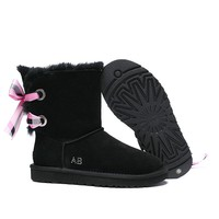 Women's UGG snow boots Middle boots DHL _1686248855-449