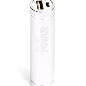 Sharper Image Pocket Power Rechargeable Battery Bank
