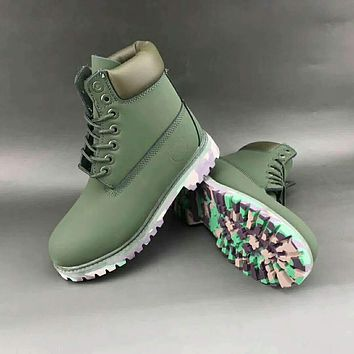 Timberland Martin in the high-top fashion men's shoes F-HAOXIE-ADXJ Army green