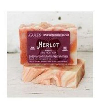 Merlot Hand And Body Soap By Rinse