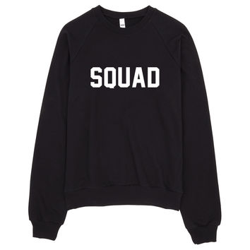 Squad Typography Sweater