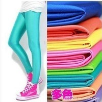 Free Shipping 12 Colors Stretchy One Size Leggings from clothingloves