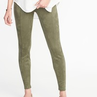 Stevie Sueded Ponte-Knit Pants for Women |old-navy