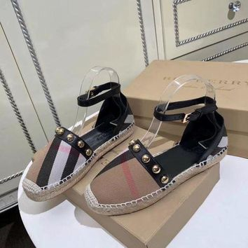 DCCK Burberry  Women Casual Shoes Boots  fashionable casual leather
