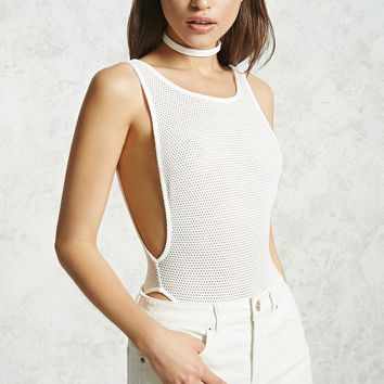 Perforated Mesh Bodysuit