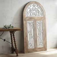 Sophia Arched Mirrored Wall Decor