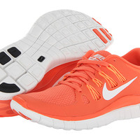 Nike Free 5.0+ Turf Orange/Atomic Orange/Summit White/Summit White - Zappos.com Free Shipping BOTH Ways