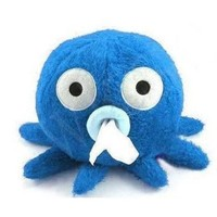 niceeshop(TM) Stylish Carton Short Plush Octopus Shape Napkin/Tissue Box/Holder -Blue