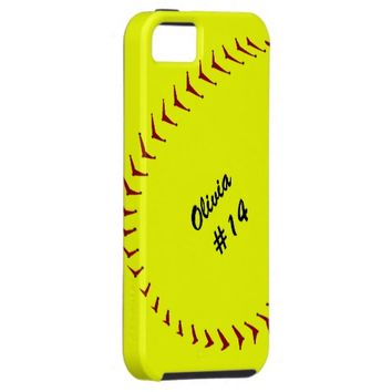 Fastpitch Softball iPhone 5 Case